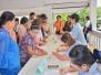 โครงการแว่นตาผู้สูงวัย วันที่ 13 มิ.ย.2561 จังหวัดพะเยา